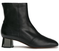 Petsy Leather Ankle Boots Black