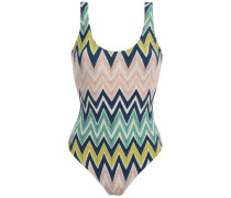 Printed Swimsuit Blush