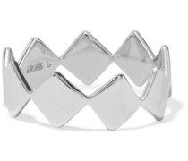 Silver-tone ring