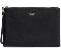 Leather Pouch Black Size --