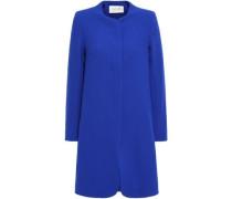Redgrave Wool-crepe Coat Royal Blue