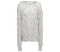 Mohair-blend Sweater Multicolor