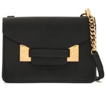 Milner Nano Leather Shoulder Bag Black Size --