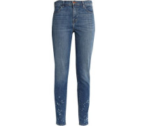 Maria mid-rise skinny jeans