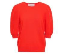 Woman Wool And Cashmere-blend Sweater Papaya
