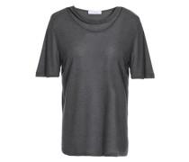 Cutout jersey T-shirt