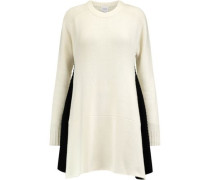 Milo wool and cashmere-blend dress