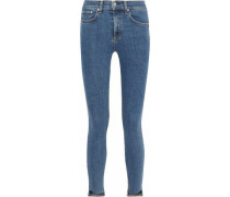 Commodore High-rise Skinny Jeans Mid Denim