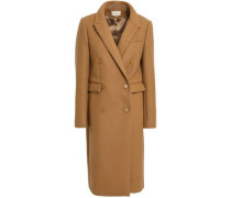 Pally Double-breasted Wool-blend Coat Camel