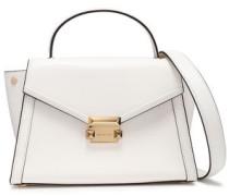 Whitney Leather Shoulder Bag White Size --