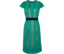 Ilissa Guipure Lace Dress Jade