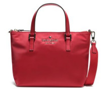 Watson Lane Lucie Leather-trimmed Shell Shoulder Bag Red Size --