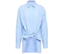 Cotton-poplin Shirt Light Blue Size 0