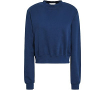 The Milan French Cotton-terry Sweatshirt Indigo