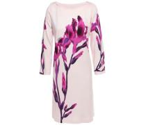Floral-print Stretch-jersey Mini Dress Pastel Pink