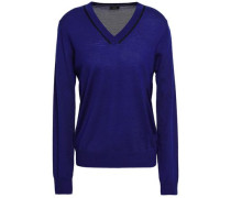 Merino Wool Sweater Royal Blue