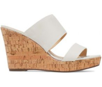 Kai leather wedge sandals