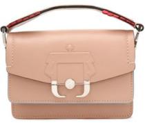 Embossed leather mini bag