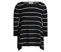Sumo striped ribbed-knit sweater