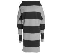 Convertible striped stretch-cotton jersey dress