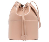 Leather Bucket Bag Blush Size --