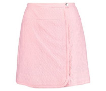 Cloqué mini skirt