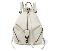 Julian Mini Convertible Pebbled-leather Backpack Ivory Size --