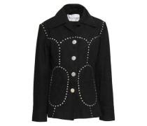 Study Studded Leather Jacket Black