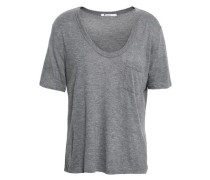 Stretch-jersey T-shirt Gray
