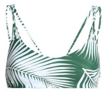 Madrid printed bikini top