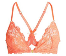 Lace soft-cup triangle bra