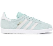 Gazelle Rubber And Suede Sneakers Mint