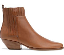 Eckland Leather Ankle Boots Camel