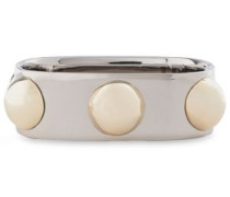 Silver And Gold-tone Bangle Silver Size --