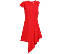 Asymmetric Cady Mini Dress Red Size 12