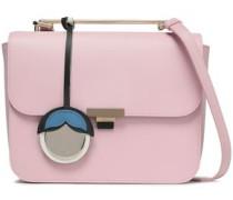 Camelia Leather Shoulder Bag Pastel Pink Size --