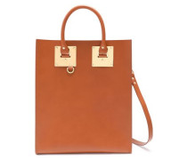 Albion Matte-leather Tote Light Brown Size --