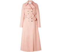 Woven Trench Coat Blush