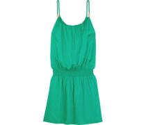 Key West Voile Mini Dress Green