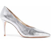 Salma croc-effect leather pumps