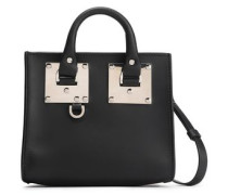 Albion Box Leather Shoulder Bag Black Size --