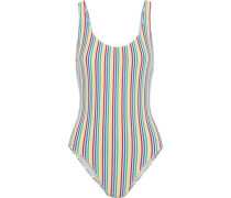 The Anne Marie striped seersucker swimsuit