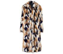 Woman Faux Fur Coat White