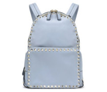 Studded Leather Backpack Sky Blue Size --