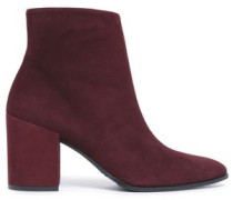 Trendy suede ankle boots