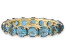 18-karat gold peridot ring
