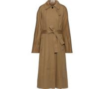 Cotton-gabardine Trench Coat Camel