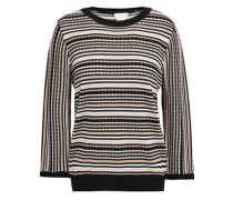 Striped Knitted Sweater Multicolor