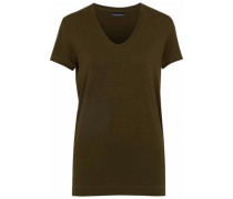 Stretch-jersey T-shirt Army Green