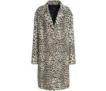 Wool-twill coat
